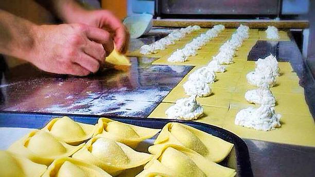 Peccati di Gola produccion pasta rellena