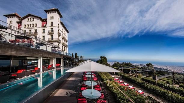 Café 1925 - Gran Hotel La Florida Vista terraza