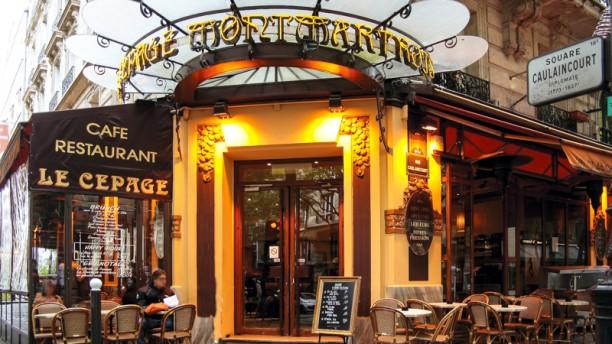 Le Cépage Montmartois Devanture