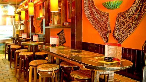 Pin Decoracion Restaurante Mexicano Kamistad Celebrity