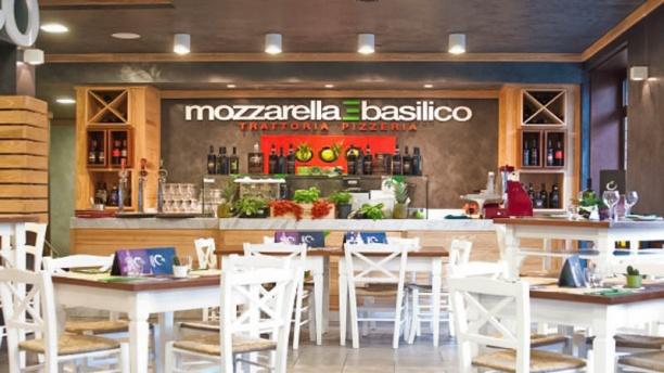 Mozzarella e basilico sala