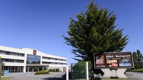Qualys Hotel Lyon Nord entrée