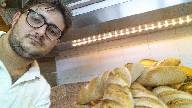 Al Feudo Ristorante Pizzeria Lo Chef e il pane fatto da noi