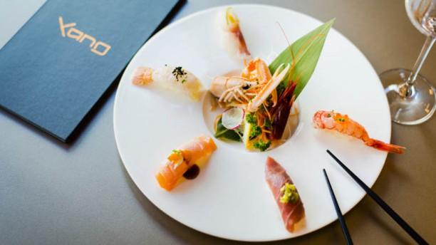 Yang Sushi and Fusion nigiri dello chef