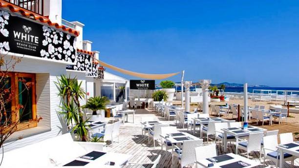 White Eivissa Beach Club Terraza