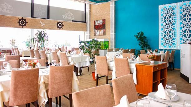 Macca Balık Dining room