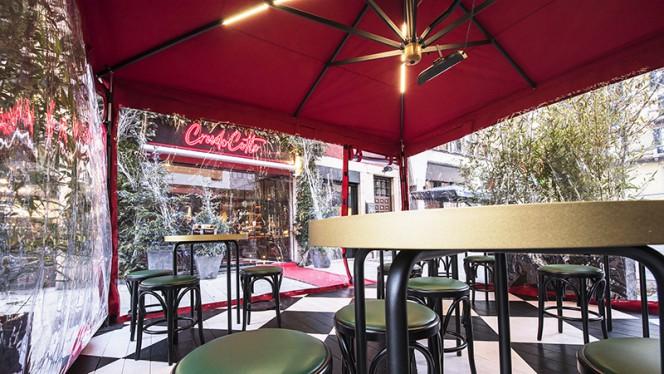 Terrazza esterna - CrudoCotto Prosciutto Wine Bar & Restaurant, Milano