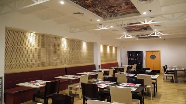 Vía Roma Sala del restaurante