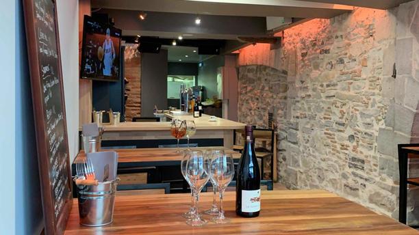 Izarrena Restaurant Vue du bar