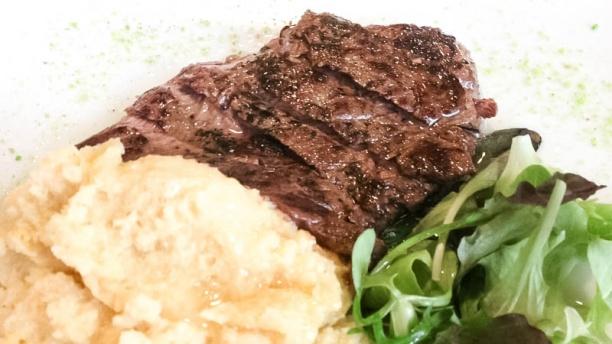 Osteria San Clemente carne con pure'