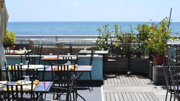 Club 55 terrazza con vista