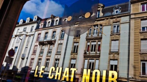 Le Chat Noir Façade du restaurant