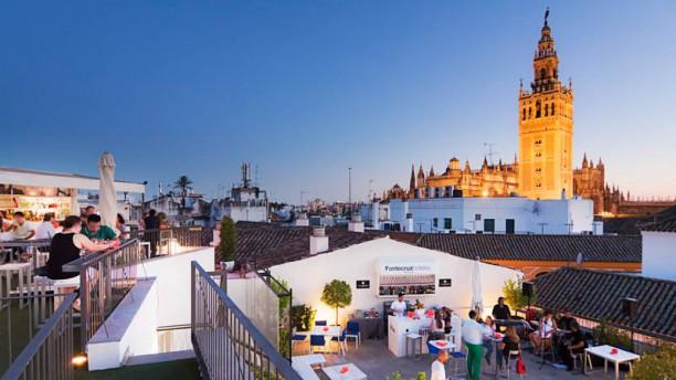 Terraza Eurostars Sevilla vistas terraza