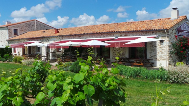 Auberge La Gaillotière Vue terrasse