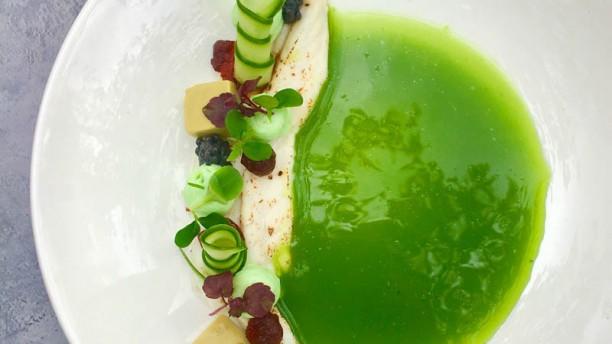 Restaurant Maan Kabeljauw met groene kruiden