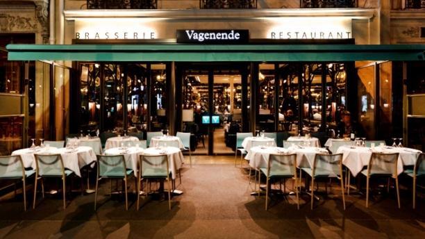 Vagenende Restaurant Paris Menu