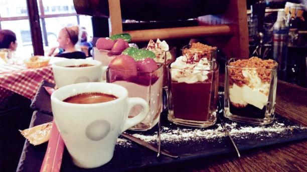 Les 4 Saisons Café Gourmand!!