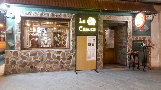 La Casuca fachada / entrada