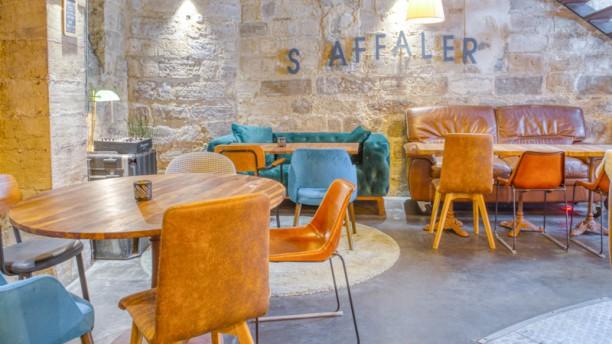 Café Saint Jean Vue de l'intérieur