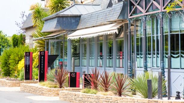Maison Tirel Guerin Entrée de l'hôtel et du restaurant