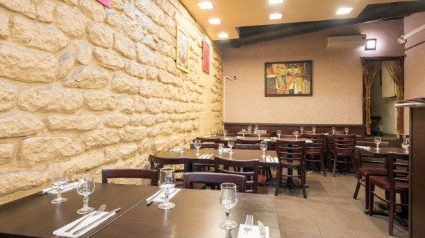 Zamane Salle du restaurant