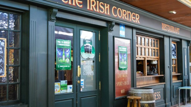 Irish Corner Vista entrada