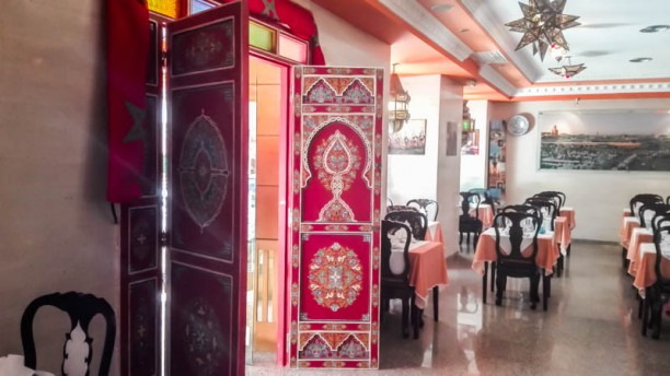 Marrakesh Vista da sala