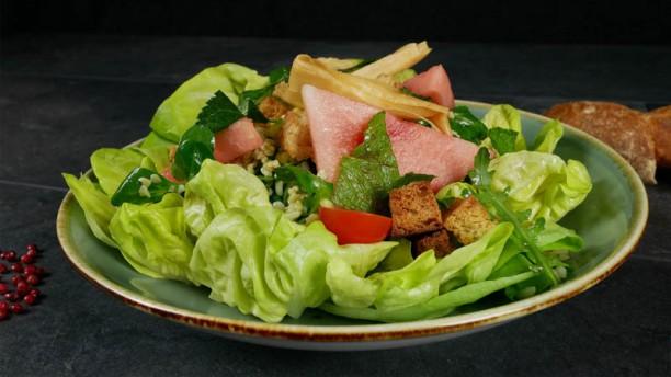 De Boterlap Ermelo Griekse salade Bulger