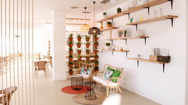 Bancal. Organic food Vista de la sala