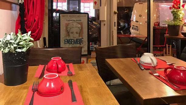 Crêperie de Quiberon Table dressée
