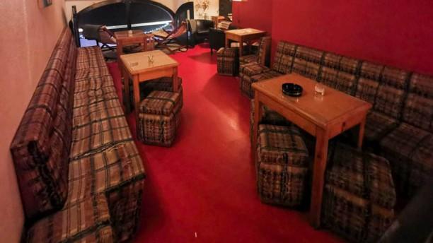 Wine Bar No Grau Vista da sala