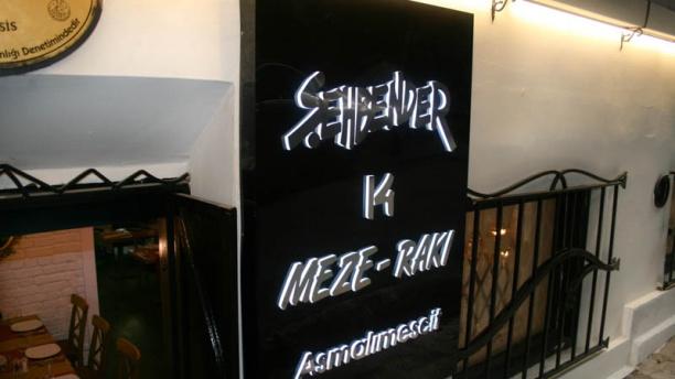 Şehbender 14 The restaurant