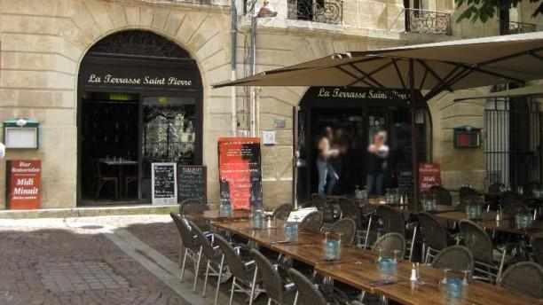 restaurant la terrasse saint pierre bordeaux 33000 avis menu et prix. Black Bedroom Furniture Sets. Home Design Ideas
