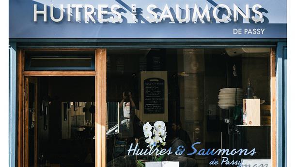 Huîtres et Saumons de Passy DEVANTURE