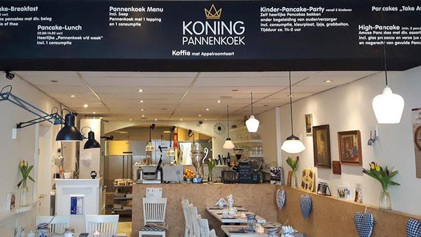 Koning Pannenkoek Het restaurant