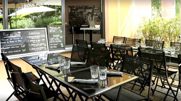 Soulfood Café Vue de la terrasse