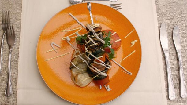 Restaurant De Saeck Gerecht 1