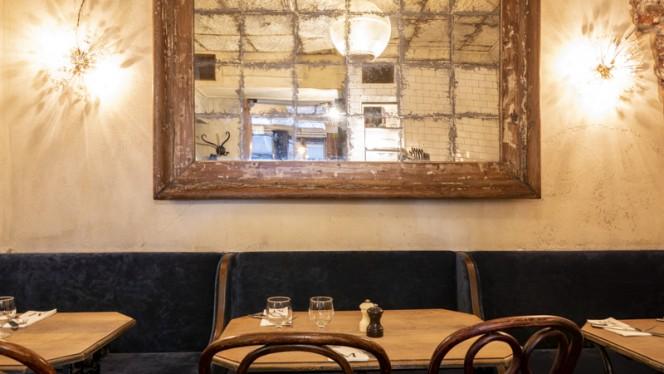 Table dressée - Café Maurice, Toulouse