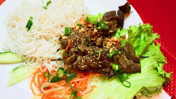 Le Saigon d'Antan Porc grillé Bun Cha - A2