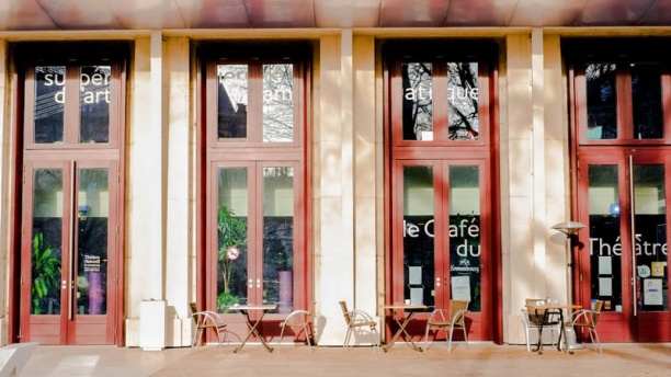 Café restaurant du théâtre TNS Vue exterieure