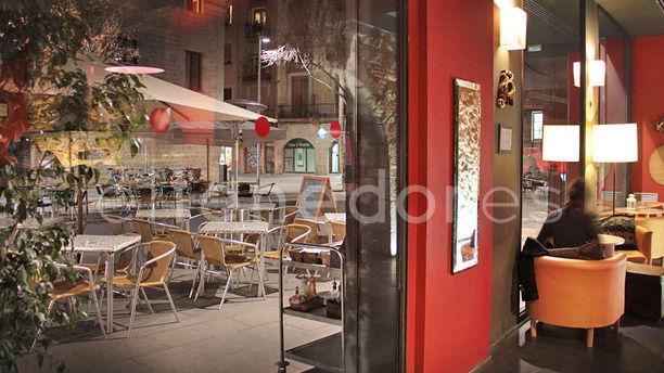 Alsur Café interior y exterior