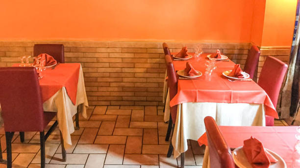 Little India Restaurant Vista sala