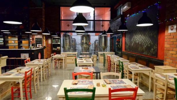 Fermento Brew-Inn Brew-Pub Vista sala