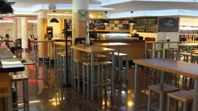 Vista sala - Sushi Master Moncloa, Madrid