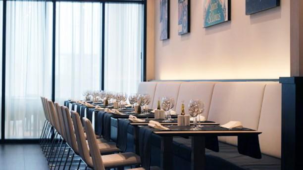 Saint-Louis Brasserie Restaurant Vue de la salle