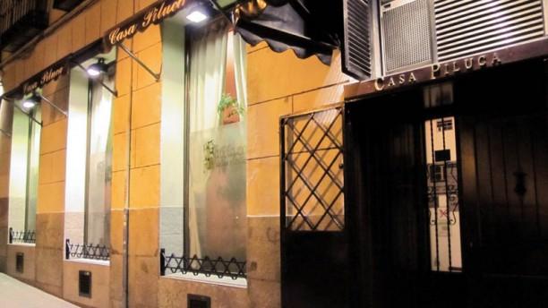 Casa Piluca La entrada