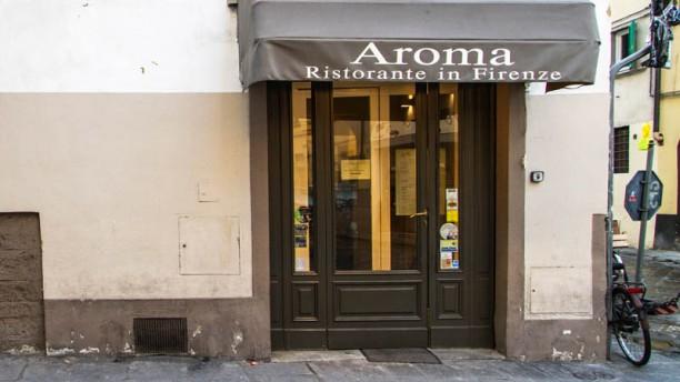 Aroma Ristorante in Firenze Entrata