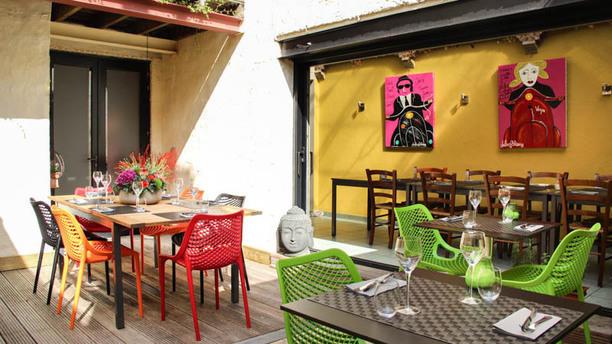 De Twijfelaar patio's corner