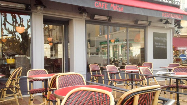 Café Matisse devanture