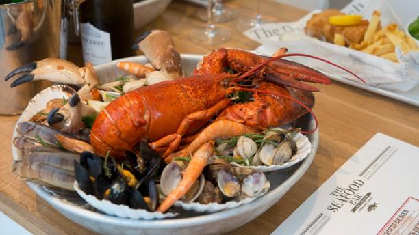 The seafood bar in amsterdam menu openingstijden for Seafood bar van baerlestraat amsterdam